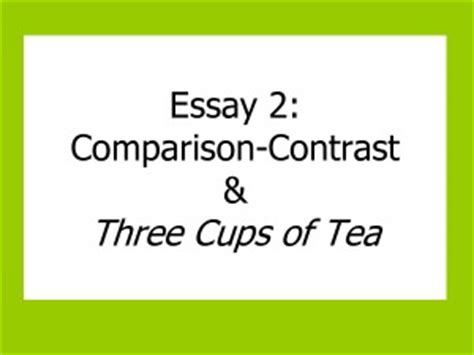 3 Ways to Write a Title for a Compare and Contrast Essay